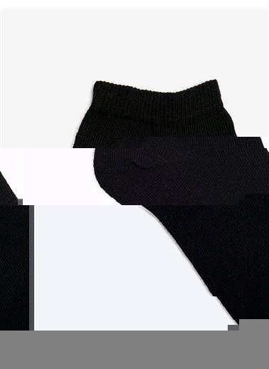 Koton Kadin 5'li Basic Çorap Seti Siyah